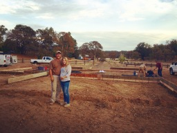 Breaking ground on our new home!